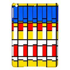 Colorful Rectangles Pattern Apple Ipad Air Hardshell Case
