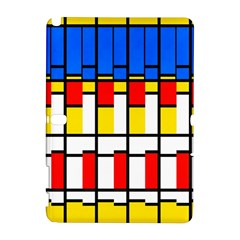 Colorful Rectangles Pattern Samsung Galaxy Note 10 1 (p600) Hardshell Case