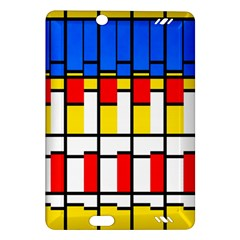 Colorful Rectangles Pattern Kindle Fire Hd (2013) Hardshell Case