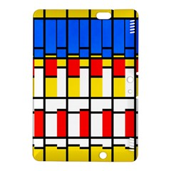Colorful Rectangles Pattern Kindle Fire Hdx 8 9  Hardshell Case
