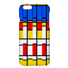 Colorful rectangles pattern	Apple iPhone 6 Plus Hardshell Case
