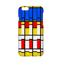 Colorful rectangles pattern Apple iPhone 6 Hardshell Case