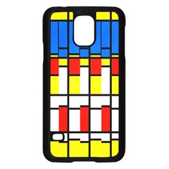 Colorful rectangles patternSamsung Galaxy S5 Case