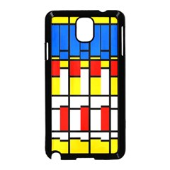 Colorful rectangles pattern Samsung Galaxy Note 3 Neo Hardshell Case