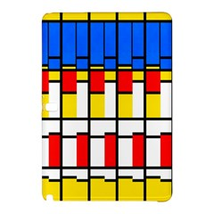 Colorful rectangles patternSamsung Galaxy Tab Pro 10.1 Hardshell Case