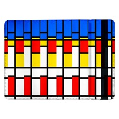 Colorful rectangles pattern	Samsung Galaxy Tab Pro 12.2  Flip Case