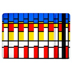 Colorful rectangles pattern	Apple iPad Air Flip Case