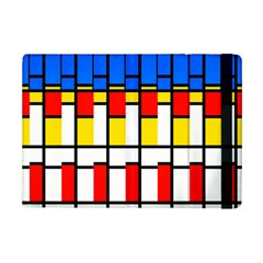 Colorful rectangles pattern	Apple iPad Mini 2 Flip Case