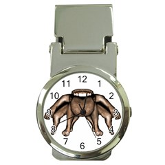 Fantasty Dark Alien Monster Money Clip With Watch