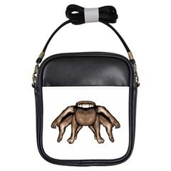 Fantasty Dark Alien Monster Girl s Sling Bag