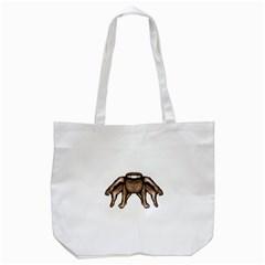 Fantasty Dark Alien Monster Tote Bag (White)