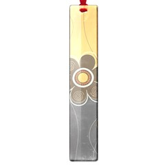 Floral Design Large Bookmark