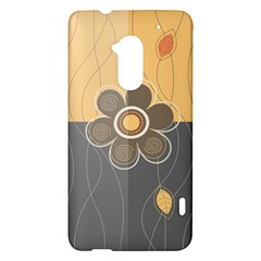 Floral Design HTC One Max (T6) Hardshell Case