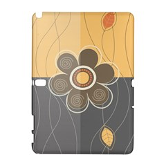 Floral Design Samsung Galaxy Note 10.1 (P600) Hardshell Case