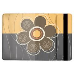 Floral Design Apple iPad Air Flip Case