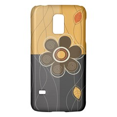 Floral Design Samsung Galaxy S5 Mini Hardshell Case