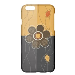 Floral Design Apple iPhone 6 Plus Hardshell Case