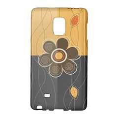 Floral Design Samsung Galaxy Note Edge Hardshell Case