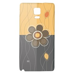 Floral Design Samsung Note 4 Hardshell Back Case