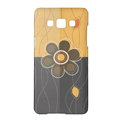 Floral Design Samsung Galaxy A5 Hardshell Case