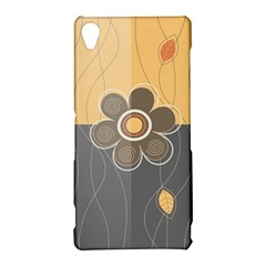 Floral Design Sony Xperia Z3 Hardshell Case
