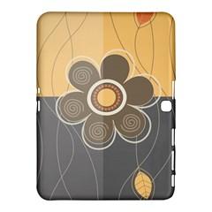 Floral Design Samsung Galaxy Tab 4 (10 1 ) Hardshell Case
