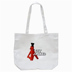 Get Jacked Tote Bag (White)