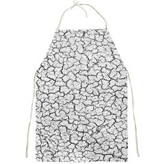Cracked Abstract Print Texture Apron