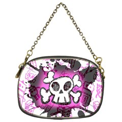 Cartoon Skull  Chain Purse (one Side)
