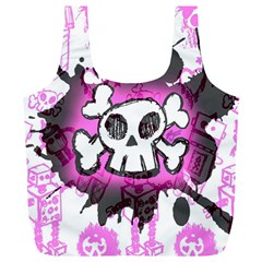 Cartoon Skull  Reusable Bag (xl)