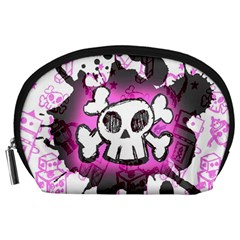 Cartoon Skull  Accessory Pouch (Large)