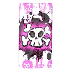 Cartoon Skull  Samsung Note 4 Hardshell Back Case