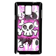Cartoon Skull  Samsung Galaxy Note 4 Case (Black)