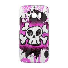 Cartoon Skull  Samsung Galaxy S6 Edge Hardshell Case