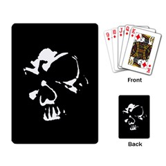 Gothic Skull Playing Cards Single Design