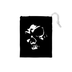 Gothic Skull Drawstring Pouch (Small)
