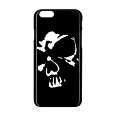 Gothic Skull Apple Iphone 6 Black Enamel Case