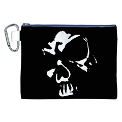 Gothic Skull Canvas Cosmetic Bag (XXL)