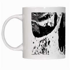 Grunge Skull White Coffee Mug