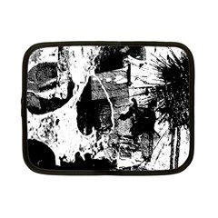 Grunge Skull Netbook Sleeve (small)