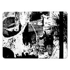 Grunge Skull Samsung Galaxy Tab Pro 12.2  Flip Case