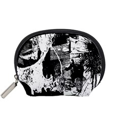 Grunge Skull Accessory Pouch (Small)