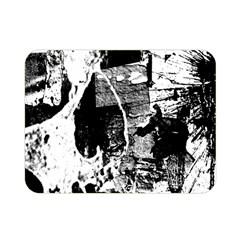 Grunge Skull Double Sided Flano Blanket (Mini)
