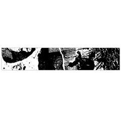 Grunge Skull Flano Scarf (Large)