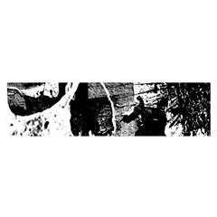 Grunge Skull Satin Scarf (Oblong)