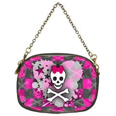 Princess Skull Heart Chain Purse (two Sided)