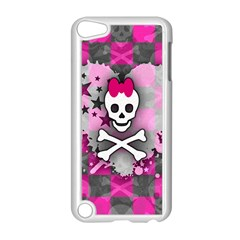 Princess Skull Heart Apple Ipod Touch 5 Case (white)