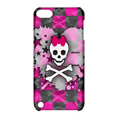 Princess Skull Heart Apple Ipod Touch 5 Hardshell Case With Stand