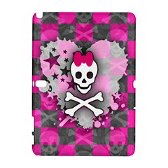 Princess Skull Heart Samsung Galaxy Note 10 1 (p600) Hardshell Case