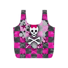 Princess Skull Heart Reusable Bag (s)